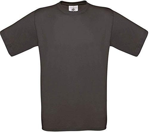 T-Shirt Exact 190 Basics Rundhals Shirt viele Farben B&C S-XXL XL,usedblack