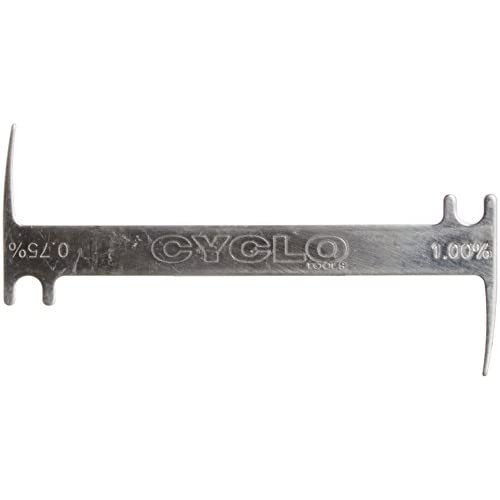 Cyclo Tools - Indicatore di Usura della Catena, Argento (Argento), N/A