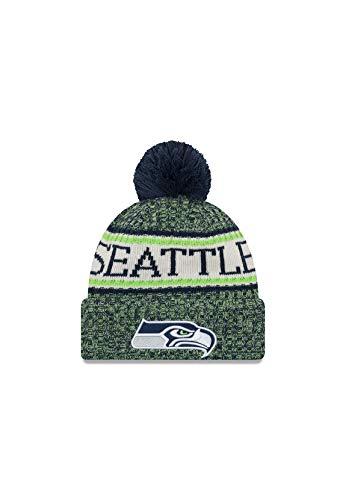 New Era Knitted Onfield Sport Beanie ~ Seattle Seahawks