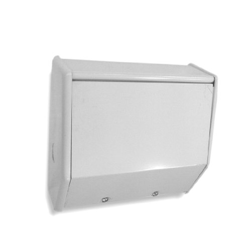 King BKCB2BW K-Series 7-1/8-Inch Dual Relay Control Box, Relay Not Included, Bright White
