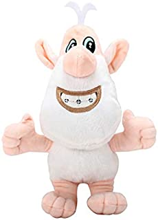 30cm Height Russian Cartoon Booba Plush Toys Withe Pig Buba Stuffed Doll Toy For Kids Children Christmas Birthday Gift