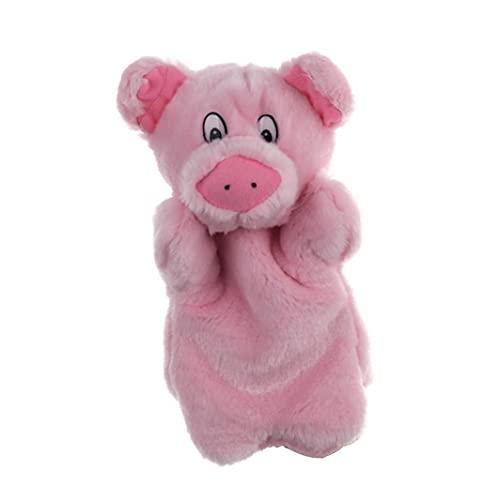 LAANCOO Las Marionetas de Cerdo de Dibujos Animados de la Felpa Animal de la marioneta de Mano para Decir de Historia Mangas Mano Interactivo Juguete de los niños Mano de Las Marionetas