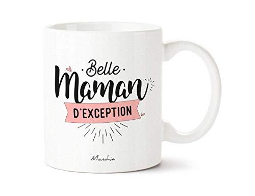 Mug belle mère - Belle Maman d'exception | Manahia | Imprimé en France | cadeau belle mère - tasse cadeau - mug pour belle mère