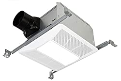 KAZE Ultra Quiet Smart Bathroom Exhaust Fan with LED
