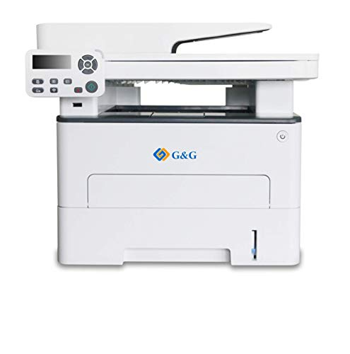 G&G Laserdrucker Multifunktionsgerät S/W 3-in-1, M4100DW Duplex - 33 Seiten/Min, Laserdrucker, Kopierer, Scanner, ADF, LAN, WLAN, USB