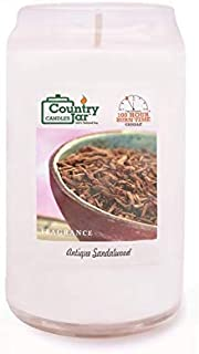 Country Jar Antique Sandalwood Candle Soy Candle (16 oz. CAN-dle) 100% US Grown Premium SuperSoy (Sale!)