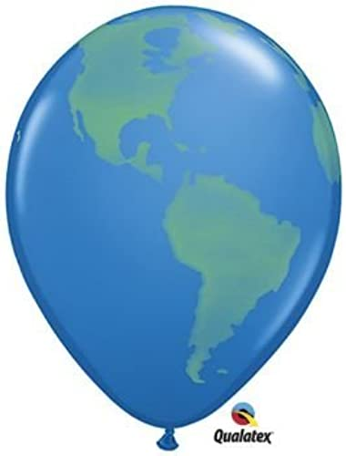 Globe Latex Balloons - Official Costumes by Official Costumes