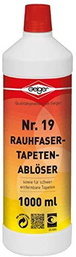 Geiger Chemie Nr. 19 Rauhfasertapetenablöser 1000ml Flasche