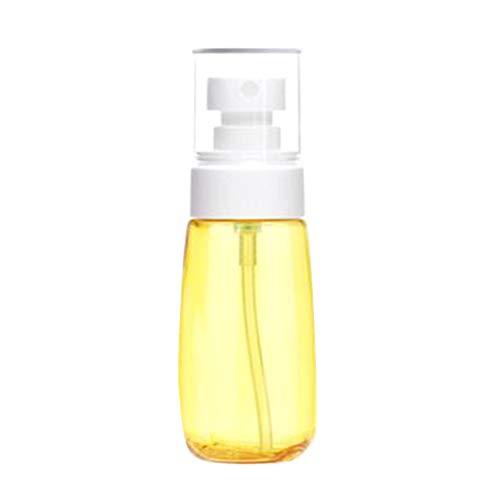 iKulilky 30mlUPG Sprühflasche Sehr Feiner Sprühnebel Parfümflasche Unterpaket Plastikflasche Kosmetikflasche Sonnenschutz Sprühflasche Schönheitsflasche Desinfektionsmittel Pumpe-gelb + weiß.