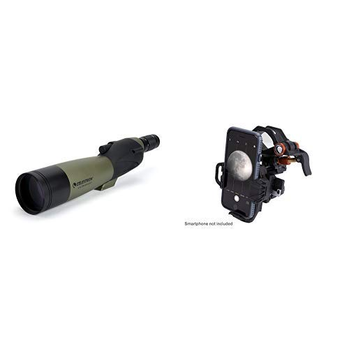 Buy Celestron Ultima 80 20 to 60x80 Straight Spotting Scope with Universal Smartphone Adapter
