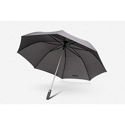 Skoda MVF09-047 Automatische paraplu Simply Clever stokscherm aluminium stok