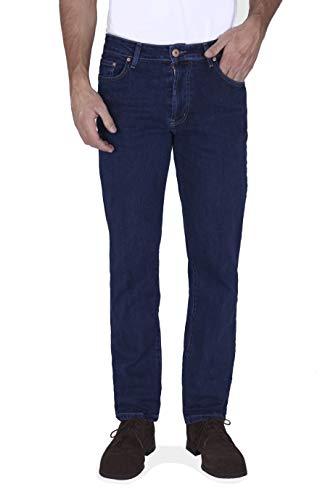 New Caro CE05361 Vro. Blue Jeans , Negro ( 00300/Lav. Piedra ) , 42 para Hombre