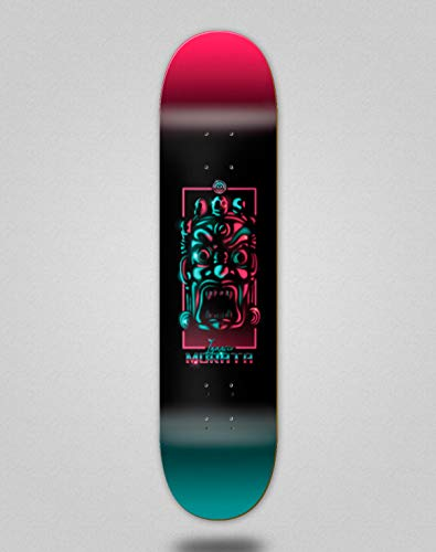 Imagine Monopatín Skate Skateboard Deck Tabla Neon Pro Ignacio Morata 8.5