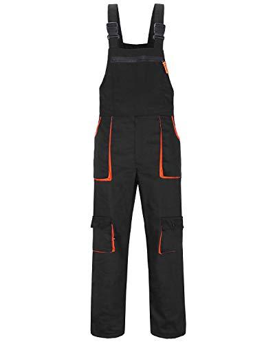 Yukirtiq Homme Salopette de Travail Salopette de Travail/Cargo Pantalon pour Homme Stretch Coton Respirant