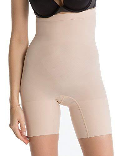 Spanx - Mutande contenitive - Donna, Beige - Nude (Soft Nude), Large