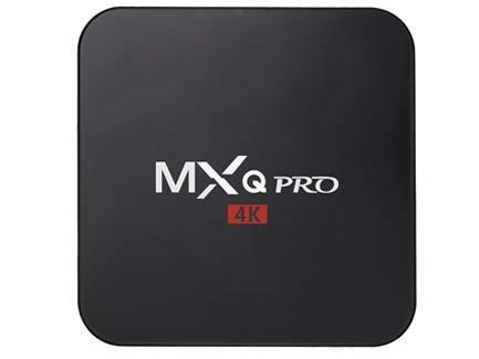 MXQ Pro Android Tv Box 4K Android 7.1 / mit Playstore / 4K Auflösung/ SD-Anschluss / für Netflix, Disney+ und mehr