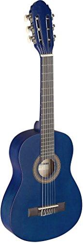 Stagg C4051/4Klassische Gitarre–schwarz 1/4 blau