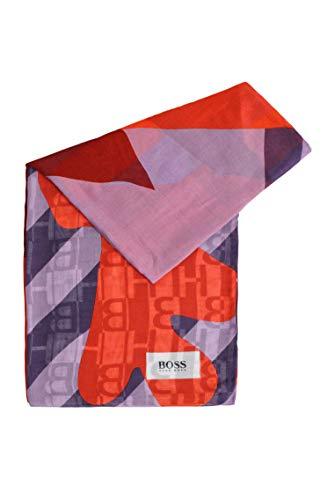 BOSS Damen Nevah Modal-Schal mit verschiedenen Prints