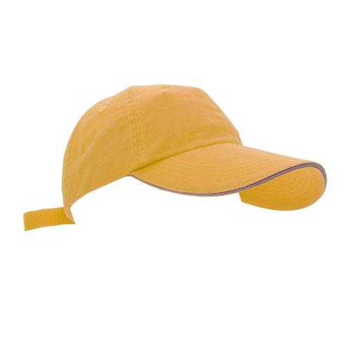 Anvil - Casquette de baseball - Unisexe (Taille unique) (Jaune)