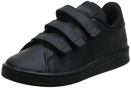 adidas Advantage C, Sneaker, Core Black/Core Black/Grey, 33 EU