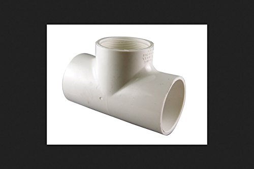 Charlotte Pipe & Foundry Pvc024012600ha Pvc Reducing Tee White 1/2 X 1/2 X 3/4 by Charlotte Pipe and Foundry