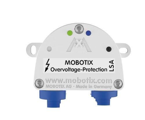 Mobotix Protection-Box-LSA Überspannungsschutz Videoüberwachungssystem schwarz/weiß