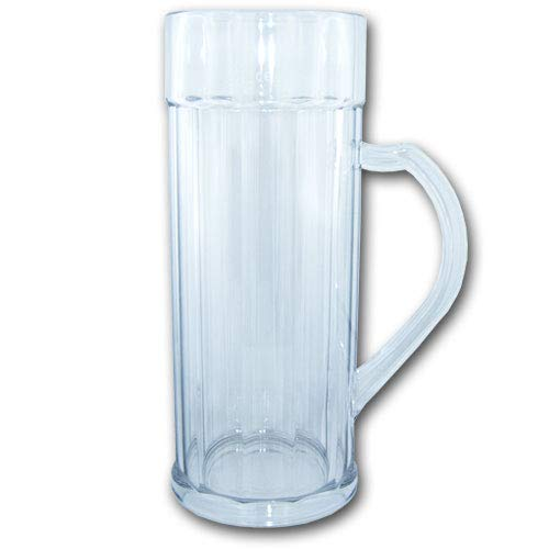 Unbekannt Doppler Bierkrug 2 Liter SAN Kunststoffglas