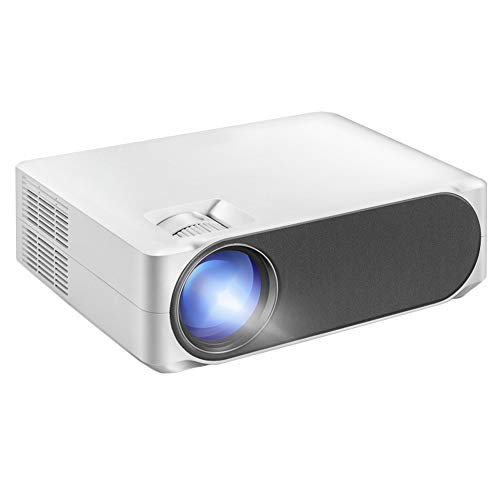 Pillows-RJF Mini Projector,5800 Lumens Mini Portable Projector,Full HD 1080P LED Video Projector 200'Home Cinema Compatible With Android/Laptop/PC/TV Stick