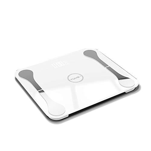 Huishoudelijke weegschaal Led Gehard Glas Automatische Schakelaar Machine Vermogen Temperatuur Display Temperatuur Gezondheidsschaal