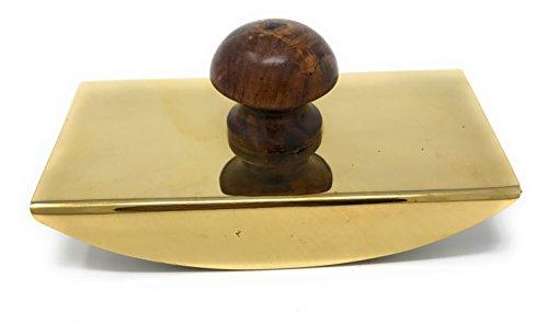 Messing & Holz Rocken, Tinte Schreibunterlage, von Madison Bay Company, 4,5l