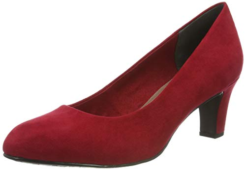 Tamaris Damen 1-1-22418-23 515 Pumps, Rot (LIPSTICK 515), 37 EU