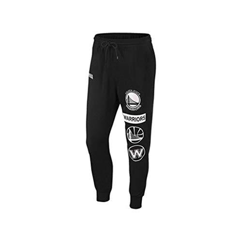 HYYSH Golden State Warriors NBA Pantaloni in Maglia Casual Pantaloni Allenamento Basket Pantaloni Sportivi da Basket ad Asciugatura Rapida (Size : XL)