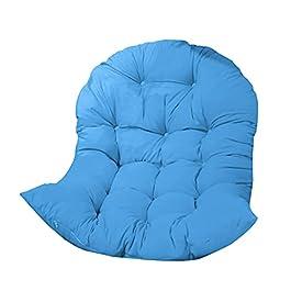 Coussins de chaise à suspendre, chaise longue épaisse, coussins amovibles et lavables en osier, coussin de siège…