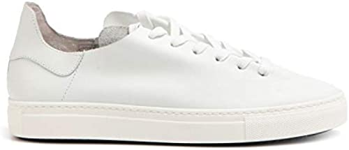 Stokton - Turnschuhe in Weiß Unlined Leather - 752 UCALF Bianco