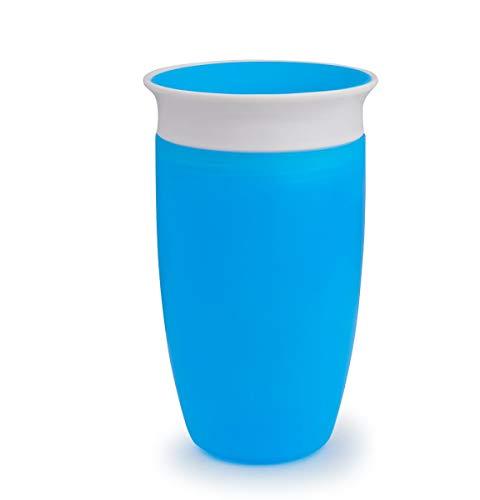 Munchkin Miracle 360° Vaso de Entrenamiento, Azul (Blue), 296 ml