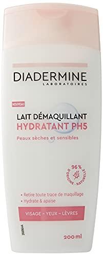 Diadermine - Lait Démaquillant Visage, Yeux et...