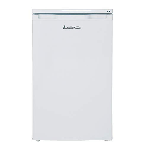 Lec R5010W Freestanding Under Counter Refrigerator, Auto-Defrost, 103L Total Capacity, 50cm wide, White