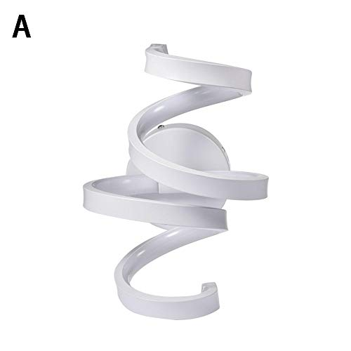 Fancylande LED-wandlamp met schakelaar voor badkamer, binnen, moderne badkamer, in de vorm van een intelligente persoonlijkheid, golfvorm