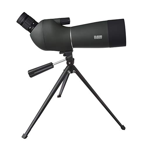 VIER Monoculaire telescoop, HD Night Vision Monoculaire Telescoop Statief Mini Koelste Hoogste voor Wildlife Watching, Wandelen, Jacht, Camping
