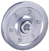 1 X 3 Inch Heavy-Duty Galvanized Steel Pulley