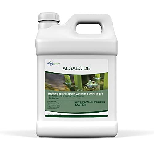 Aquascape 96053 2.5 Gallon Algaecide Algae Water Treatment, Green