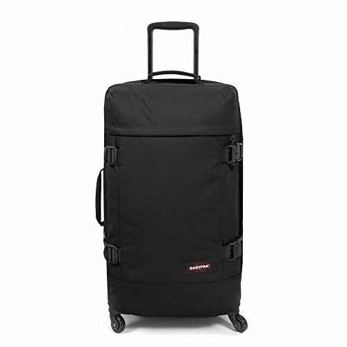 Eastpak Trans4 M Wheeled Luggage - 68 L, Black