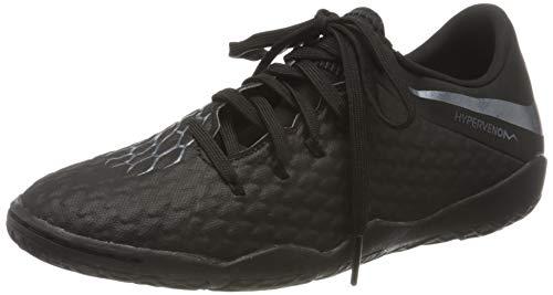 Nike Unisex Hypervenom Phantom III Academy IC Futsalschuhe, Schwarz (Schwarz Schwarz), 38.5 EU