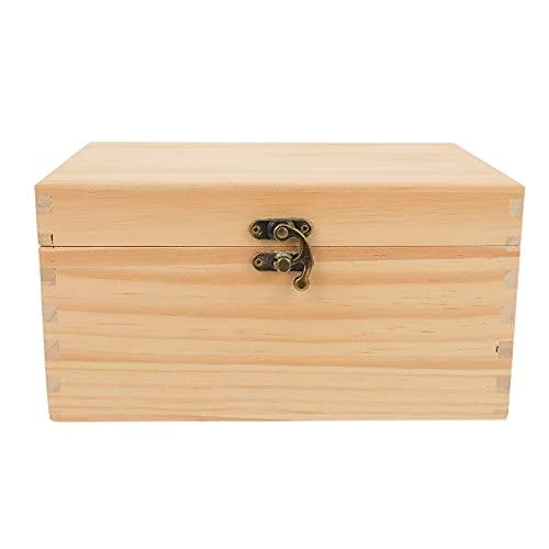HEALLILY Caja de Almacenamiento de Aceites Esenciales de Madera 23 Rejillas Organizador de Madera Caja de Almacenamiento de Perfume de Viaje Contenedor Titular para El Transporte de Hotel