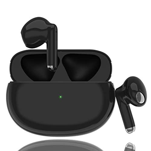 Cuffie Bluetooth 5.2 Auricolari Bluetooth 48 ore Impermeabile Cuffia Bluetooth Touch Control Wireless HiFi Cuffiette in-ear Ricarica Rapida con Microfono per PC Android TV Xiaomi Samsung Huawei iphone