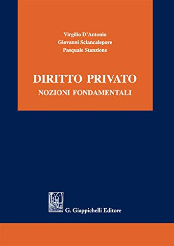 Diritto privato. Nozioni fondamentali