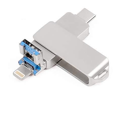 Unidad Memoria Flash USB 3.0-16GB Memoria Lápiz Drive - USB Type C Expansión de Memoria - para iPhone, iPad, Android, PC Memory Stick Expansión