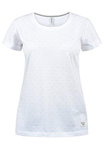 DESIRES Starlet Damen T-Shirt Kurzarm Shirt Mit Print Und Rundhalsausschnitt Aus 100% Baumwolle, Größe:XL, Farbe:Baby Blue (1007)