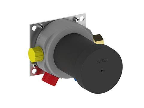Keuco 59551000070 Funktionseinheit IXMO 59551, für Einhebelmischer UP, schwarzgraugelbrot