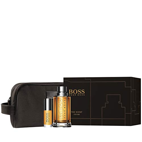 Hugo Boss - The Scent for Him Set - 100ml + 8ml EDT + Toiletry Bag